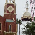 Our Lady of Guadalupe Church Dome Removal